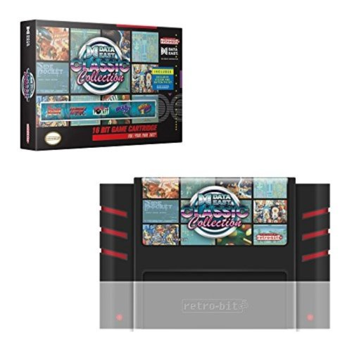Data East Classic Collection SNES Cartridge - Super NES