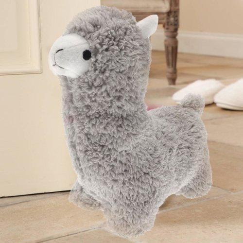Soft Fluffy Heavy Llama Door Stop