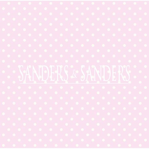 wallpaper dots soft pink and white - 935237 - from Sanders & Sanders