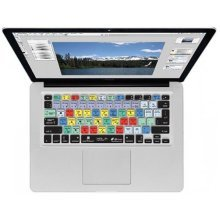 Photoshop CS6 QWERTY Keyboard Cover for MacBook, Air & Pro