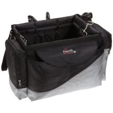 Dog Carrier Bicycle Front Box Deluxe - Travel Pet Small Puppy Blackgrey Biker -  carrier front dog bicycle box deluxe travel pet small puppy