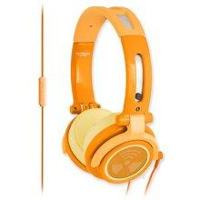 Earpollution Cs40s Chromatone With Mic - Orange -  earpollution cs40s chromatone mic orange