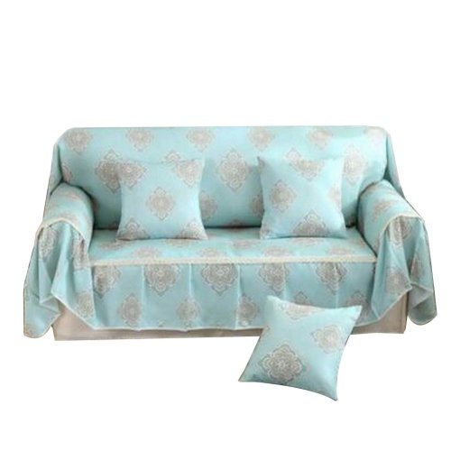 3 Seat Sofa Slipcover Elegant Couch Cover Furniture Protector #29