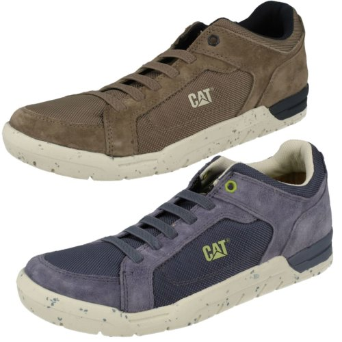 Mens Caterpillar Casual Trainers Indent