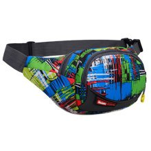 Outdoor Sports Multi-functional Waist Packs for Running Hiking Cycling Camping, Fashion Green