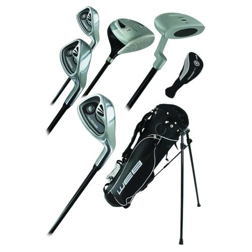 Go Junior High Quality Childrens 7 Piece Golf Starter Kids Package Set Age 13-16