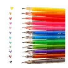 12pcs Creative Pretty Color Gel Ink Pens Marker Pen Highlighters