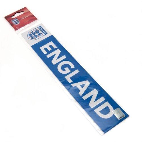 England FA Car Window Sticker