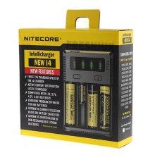 Nitecore NEW I4 Intelligent 18650 26650 20700 21700 Battery Charger