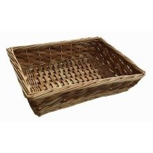 Large Chipwood Wicker Tray