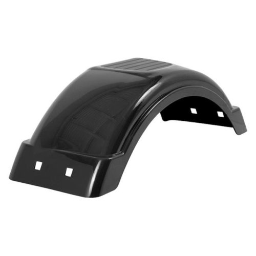 Fulton 008551 Plastic Fender 8 x 12 In. Tire Size Black