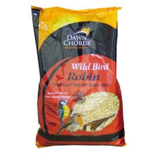Dawn Chorus Robin No Mess Seed & Insect Mix 900g
