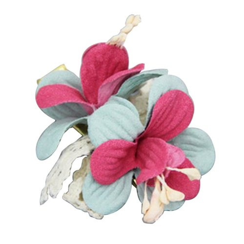 [Flower-3] 2 Pairs Stylish Hair Clip Baby Girls Hair Clip Princess Hair Barrette