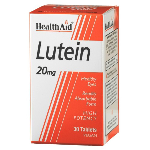 Healthaid Lutein 20mg  Tablets 30's