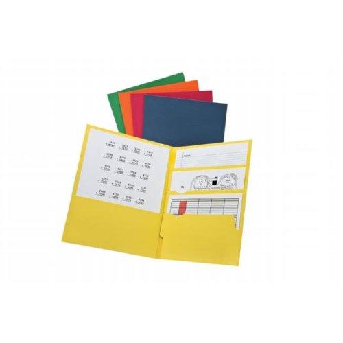 Divide It Up 4 Pocket Folders, Letter Size - Pack of 25