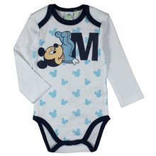 "Mickey Mouse Bodysuit - White ""M"""