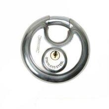 70mm Silverline Disc Padlock - Steel Stainless 292707 Security -  disc padlock 70mm steel silverline stainless 292707 security