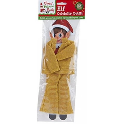 Elves Behavin Badly - Elf Glitter Celebrity Outfit - Gold