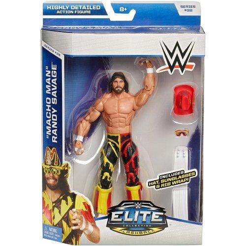 WWE Mattel Elite Series 38 Macho Man Randy Savage Wrestling Action Figure New