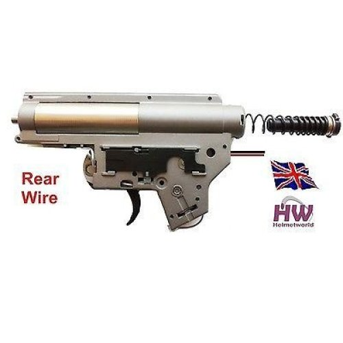 Airsoft Aeg 8Mm Full Gearbox M4 V2 Rear Wire Qd Aps Quick Release Jing Gong Jg