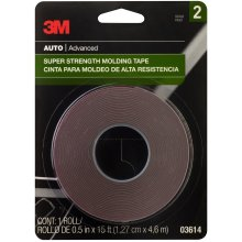 "3M Super Strength Molding Tape .5""X15'-"