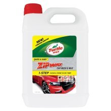 Turtle Wax Zip Super Concentrated Car Wash Shampoo & Wax 5 Litre