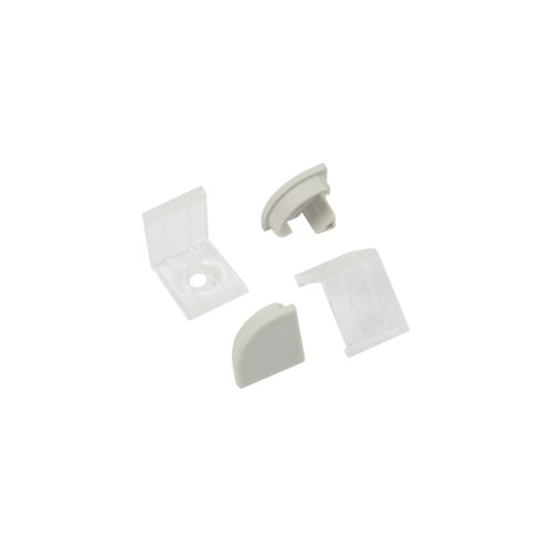 Aluminium LED Tape Profile - 90 Degree Arc