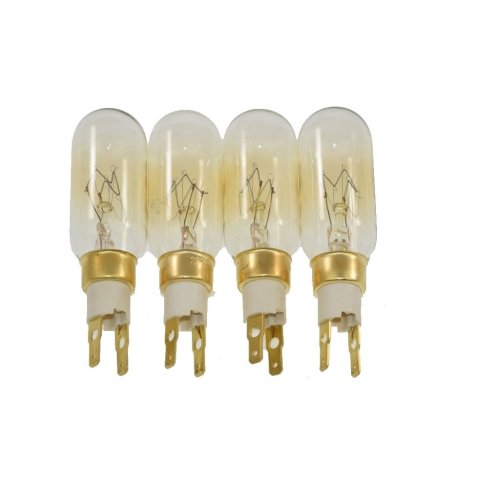 4 x American Style T Click 40W 240V Fridge Freezer Bulb Lamp