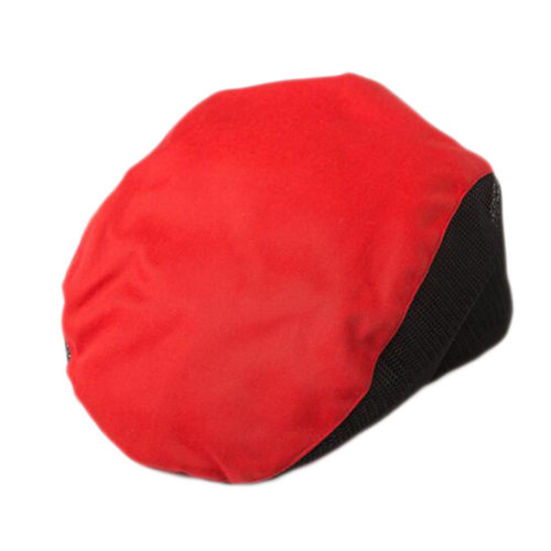 Fashion Cook Hats Hotel Cafe Breathable Mesh Chef Hats-Red #1