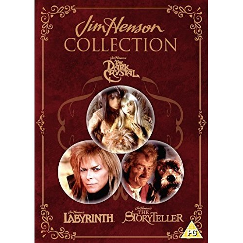 Jim Henson Collection: The Dark Crystal, Labyrinth, The Storyteller [DVD]