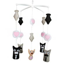 A Best Gift For Unisex Babies Unique Baby Mobiles Animal Cot Mobile