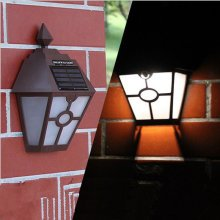 Solar Powered Wall Mount LED Light