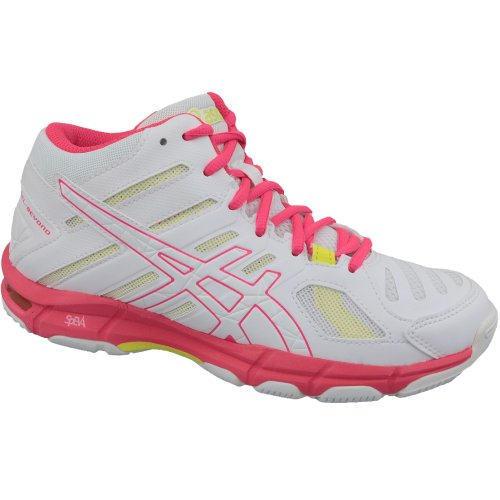 Asics Gel-Beyond 5 MT B650N-100 Womens White volleyball shoes