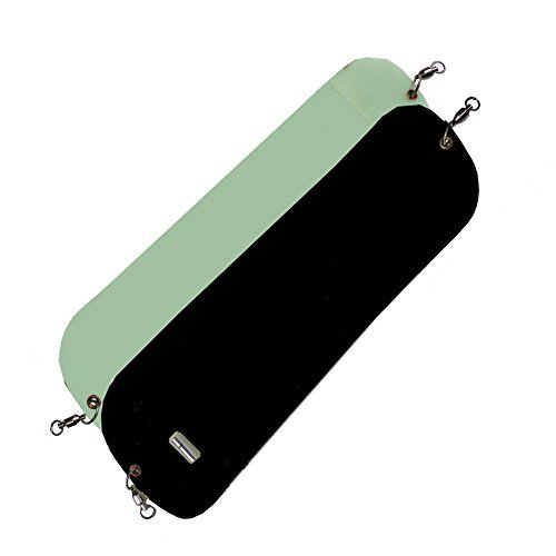 Pro Troll Fishing Products HotChip 11 Flasher with EChip Half Moon Black
