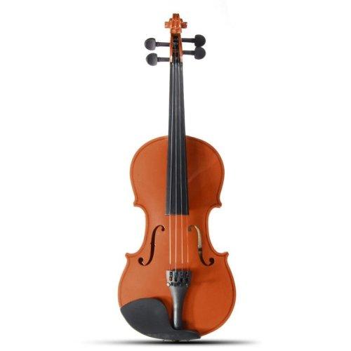 Handicraft 3/4 Basswood Violin Fiddle Alloy Tailpiece With Case Multi-colors