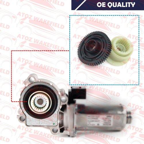 For BMW X3 X5 X6 Gearbox Transfer Case Servo Actuator Motor Repair Gears Kit