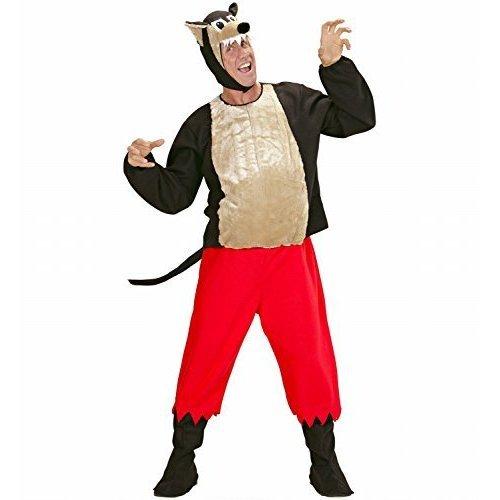 Mens Big Bad Wolf Costume Large Uk 42/44  For Fairytale Fancy Dress - big bad wolf fancy dress costume  sc 1 st  OnBuy & Mens Big Bad Wolf Costume Large Uk 42/44