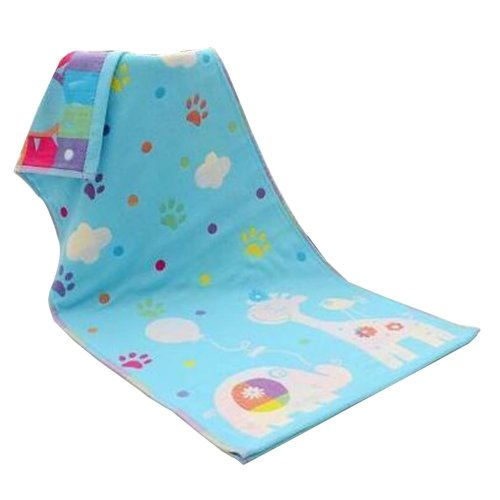Set of 4 Fashion Children Cotton Small Towel With Three Layers Of Gauze