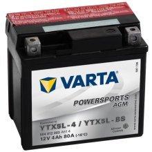 Varta Motorcycle Battery Powersports AGM YTX5L-4 / YTX5L-BS