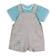 Max and Tilly Dragon Overall Set