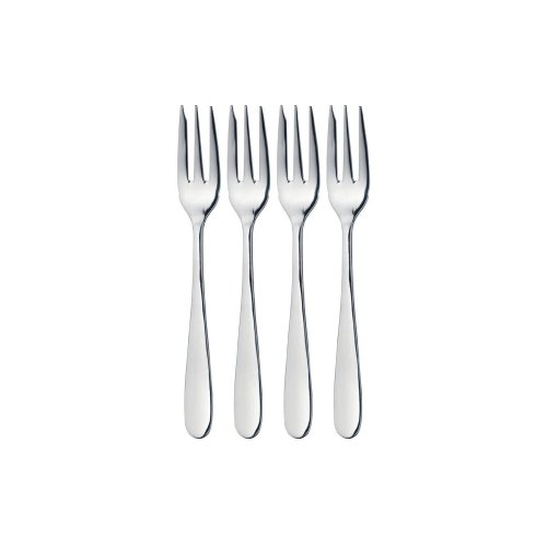 Windsor By Grunwerg Pack of 4 Pastry Cake Forks Stainless Steel New