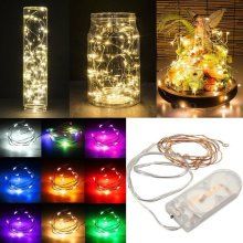 2M Waterproof LED Fairy String Light