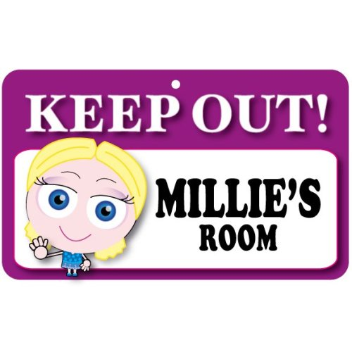 Keep Out Door Sign - Millie's Room