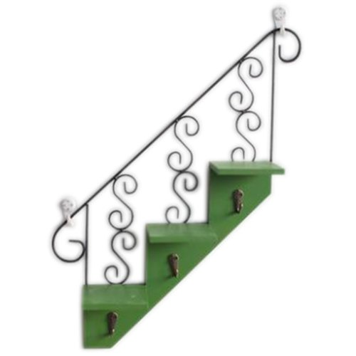 Wooden Hanging Hook Clothes/Keys/Hats Hook Home Decoration Personalized Wall Shelf Row Hook #2