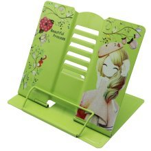 Book Stand Book Holder Adjustable Foldable Book Stand Cute [P]