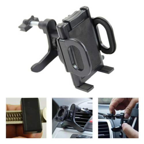 Universal Phone Or GPS Holder Mount In Car Air Vent Clip Cradle Mobile Phone
