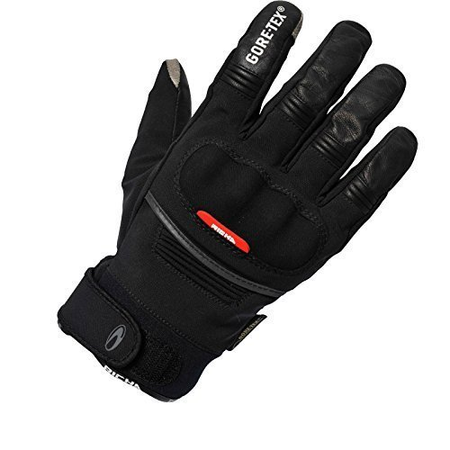 Richa City GTX GoreTex Waterproof Motorcycle Gloves Black