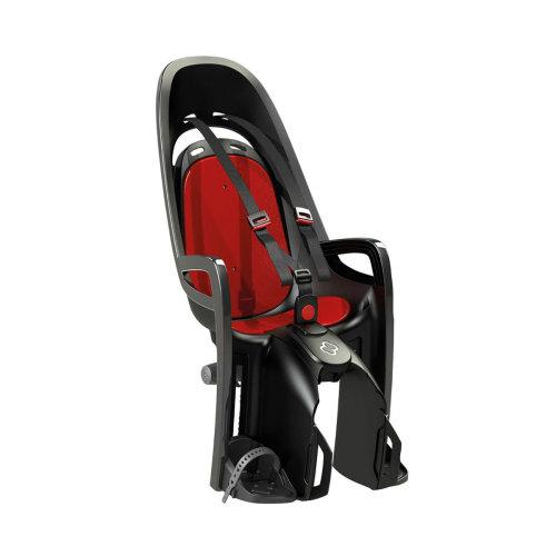 Hamax Zenith Pannier Rack Mount - Black/red - Child Seat Rear Childseat Mounted -  hamax child seat zenith rear pannier rack mount childseat mounted