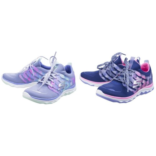 Skechers Childrens Girls SK81560L Diamond Runner Sports Shoes/Trainers
