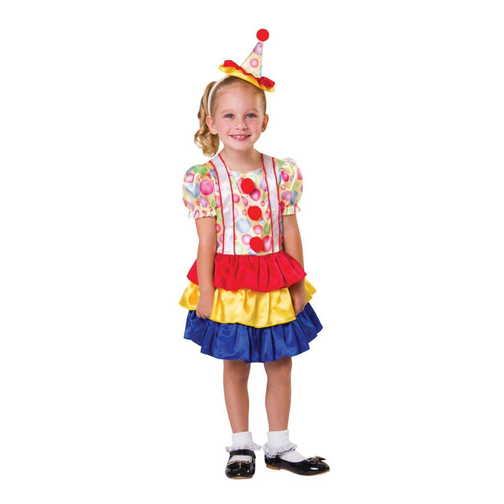 Clown Cutie Toddler Clown Costume Toddler Fancy Dress Outfit